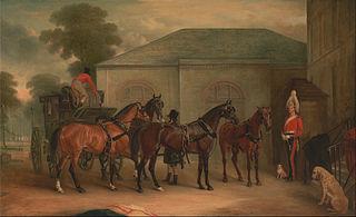 The Drag of Sir Watkin Williams Wynn