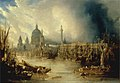 John Gendall - A View of London with St. Paul's Cathedral from the Thames.jpg