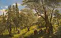 John Rafter Griechisches Landvolk im Olivenhain auf Corfu.jpg