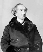Sir John A. Macdonald, first Prime Minister of Canada (1867–1873, 1878–1891).