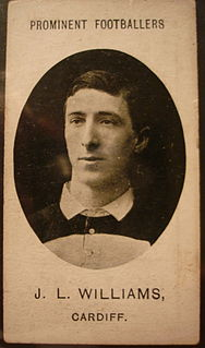 Johnny Williams (rugby player, born 1882) Rugby player