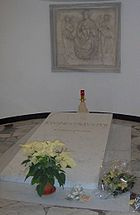 The tomb of John Paul II