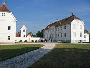 Faxe Municipality - Image: Jomfruensegede