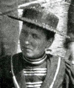 Josephine Tilden - Tilden as part of a survey team