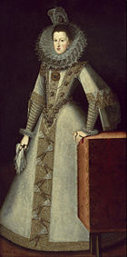 Juan Pantoja de la Cruz - Margaret of Austria, Queen of Spain - Google Art Project.jpg