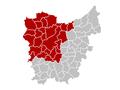 Judicial Arrondissement Ghent Belgium Map.PNG