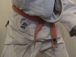 Rank in Judo Judo belt