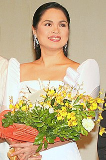 Judy Ann Santos Filipino film and television actress, reality television host, recording artist, film producer,chef and author