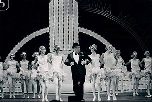 June Taylor - June Taylor Dancers with Jackie Gleason on one of his television specials.