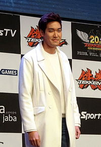Jung Gyu-woon (정겨운) in Jan 2015.jpg
