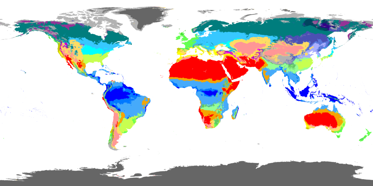 How can information about climate zones be used?