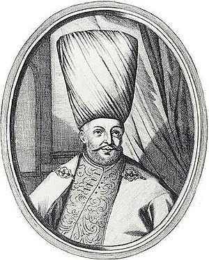 Köprülüzade Fazıl Ahmed Pasha - An engraving