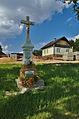Kříž na návsi, Velenov, okres Blansko (02).jpg
