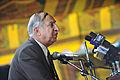 Kabul University President Hamidullah Amin speaking in 2011.jpg