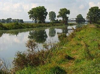 Bydgoszcz Canal - View in the west of Bydgoszcz