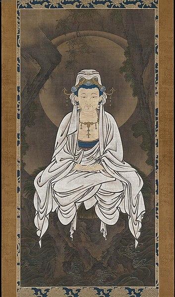 Fichier:Kano White-robed Kannon, Bodhisattva of Compassion.jpg