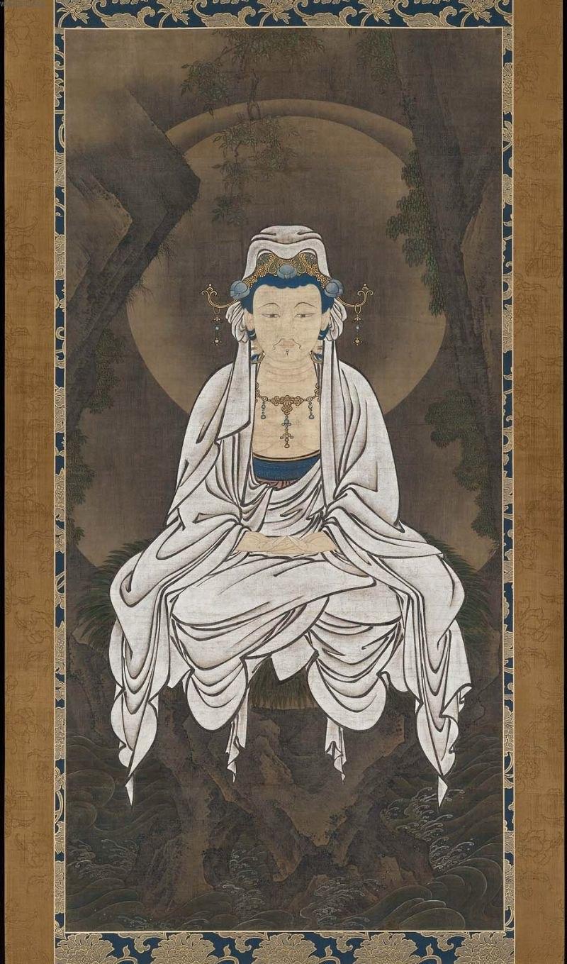 Kano White-robed Kannon, Bodhisattva of Compassion