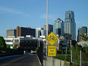 A view of Kansas City, Missouri