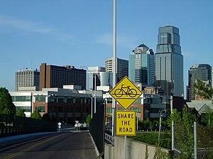 A view of Kansas City, Missouri