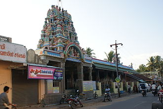 Karaikal - The Famous karaikal Ammaiyar temple