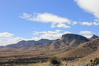 Kartchner Caverns State Park - A view from the walking trails above Kartchner Caverns State Park