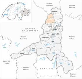 Map of Cazis