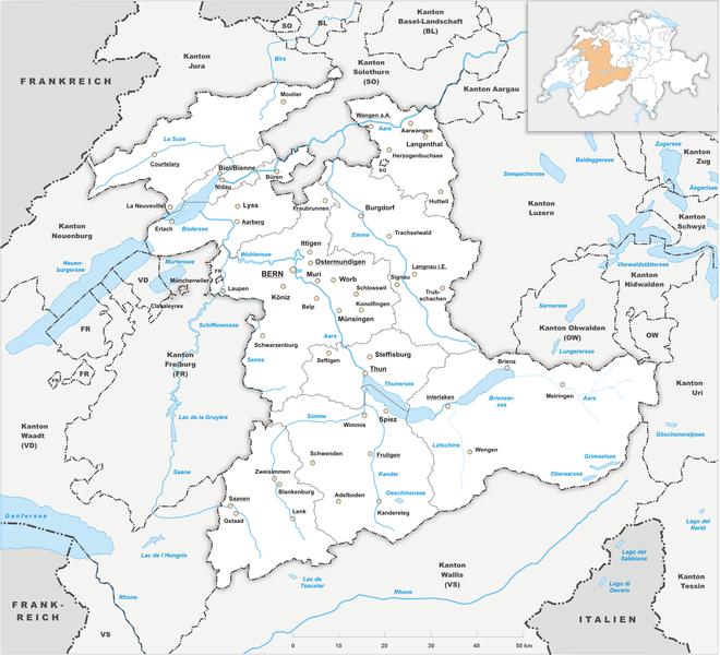 Gemeindefusionen der kanton bern will druck machen jenk for Innendekorateur kanton bern