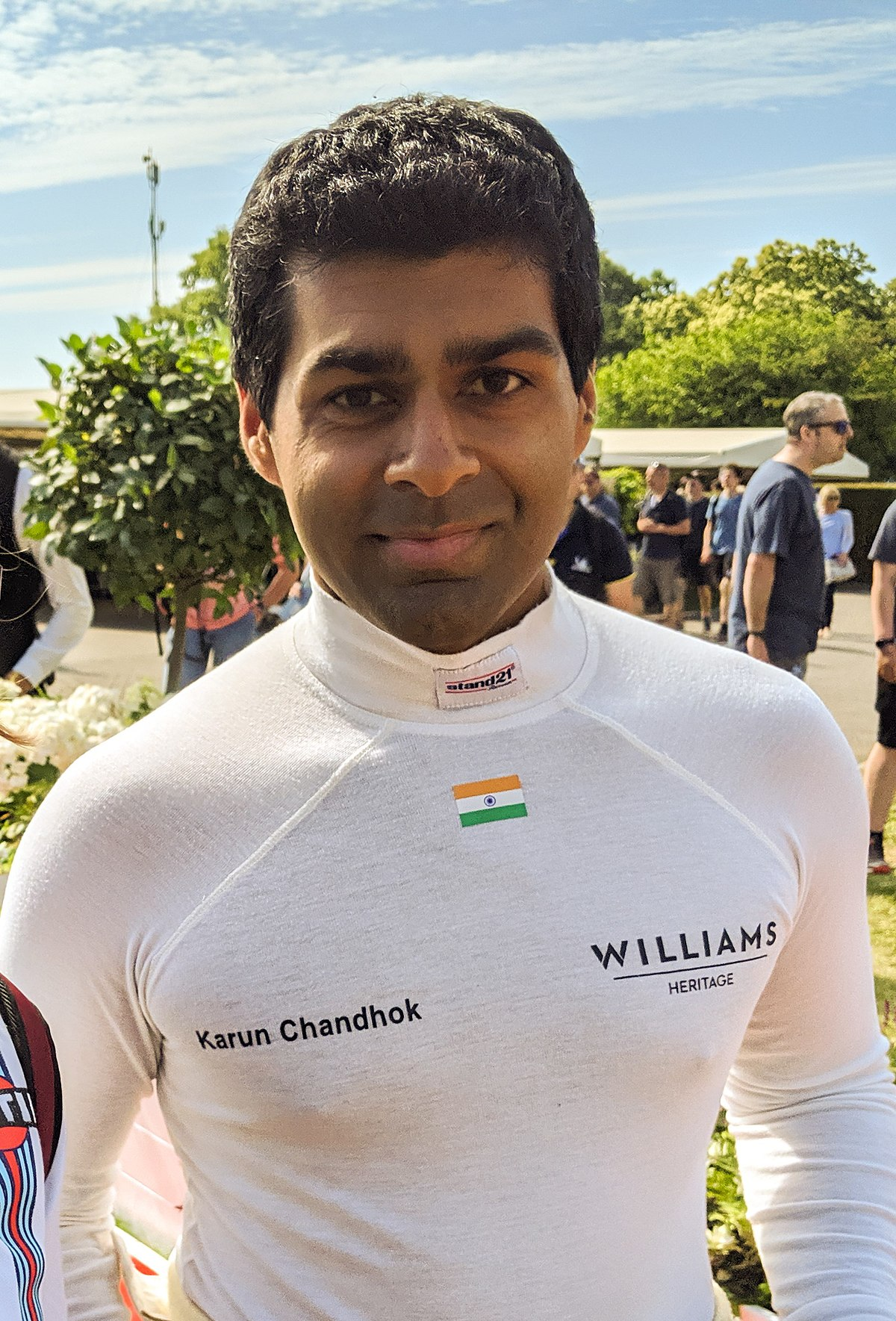 Karun Chandhok Wikipedia