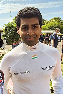 Karun Chandhok Goodwood Festival of Speed 2019 (48242680701).jpg
