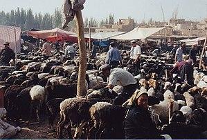 Kashgar - Kashgar's Sunday market