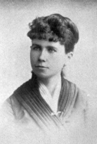 Kate McPhelim Cleary - Kate M. Cleary, circa 1893
