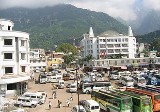 Katra, Jammu and Kashmir - Image: Katra town 1