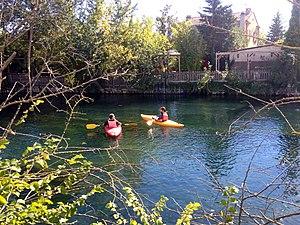 Kayak à l'Isle-sur-la-Sorgue