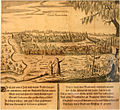 Kazan city panorama 'Cazan Tartorum' by Adam Olearius (1656).jpg