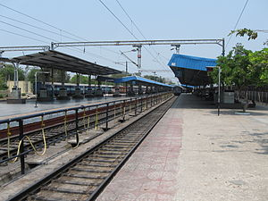 Kazipet Junction railway station - Platforms 1 and 2