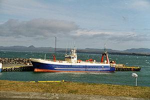 Keflavík - The harbour at Keflavík