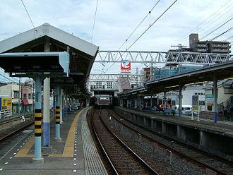 Keisei-Takasago Station - Image: Keisei takasago platform