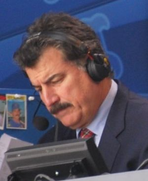 Keith Hernandez - Hernandez broadcasting a Mets game in 2010