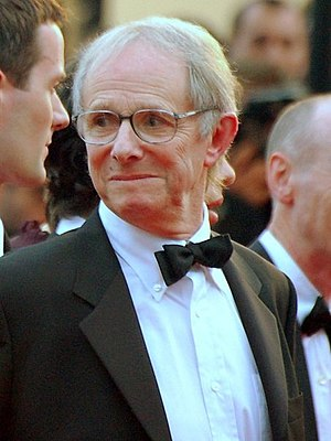 2006 Cannes Film Festival - Ken Loach, winner of the Palme d'Or at the event.