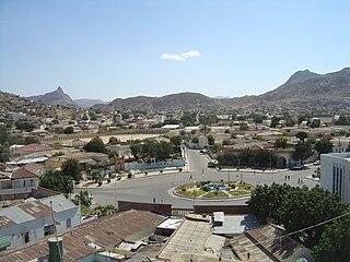 City in Anseba, Eritrea