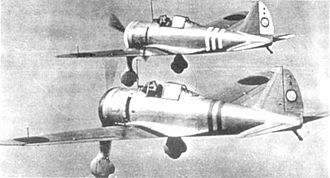 Nakajima Ki-27 - Nakajima Ki-27 of the Akeno Army Flying School, ca. winter 1941/42 (see Bueschel 1970)
