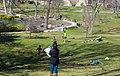 Kids on an easter egg hunt - Lake View Cemetery - 2015-04-04 (17043691731).jpg