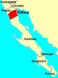 Kiliwa aboriginal people of northern Baja California, Mexico
