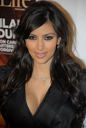 Kim Kardashian at the Seventh Annual Hollywood...