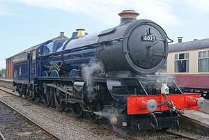 GWR 6000 Class - Image: King Edward II 6023 at Dereham