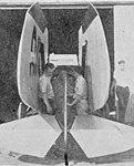 Kinner Courier wings folded rear Aero Digest May 1928.jpg