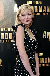 Dunst at the Australian premiere of Anchorman 2, 2013.