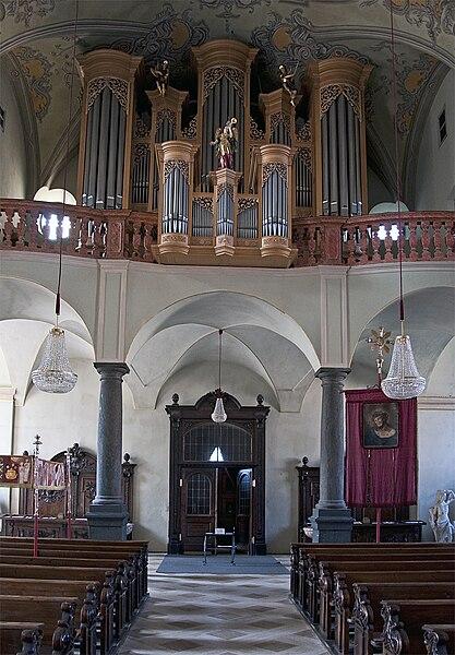 Datei:Klagenfurt - St. Egid Innenansicht 03.jpg