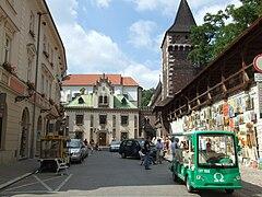 Klasztorek, Carpenters' & Joiners' Towers.jpg