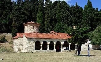 Vjosa-Narta Protected Landscape - Oak forests and Byzantine St. Mary's Monastery in Zvërnec.